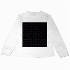 Smooth Color Pattern Kids Long Sleeve T Shirts