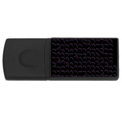 Smooth Color Pattern Usb Flash Drive Rectangular (4 Gb)