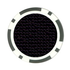 Smooth Color Pattern Poker Chip Card Guard