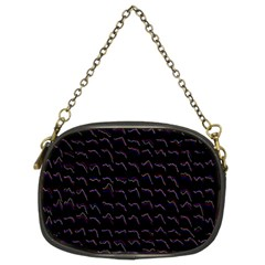 Smooth Color Pattern Chain Purses (two Sides)