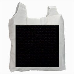 Smooth Color Pattern Recycle Bag (two Side)