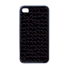 Smooth Color Pattern Apple Iphone 4 Case (black)