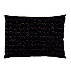 Smooth Color Pattern Pillow Case (two Sides)