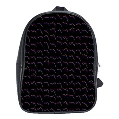 Smooth Color Pattern School Bags (xl)
