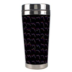 Smooth Color Pattern Stainless Steel Travel Tumblers