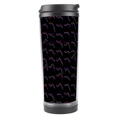 Smooth Color Pattern Travel Tumbler