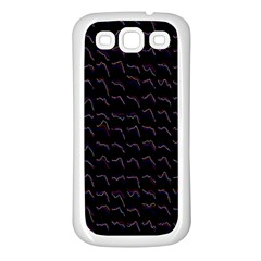 Smooth Color Pattern Samsung Galaxy S3 Back Case (white)