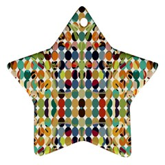 Retro Pattern Abstract Ornament (star)