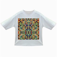 Retro Pattern Abstract Infant/Toddler T-Shirts