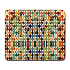 Retro Pattern Abstract Large Mousepads