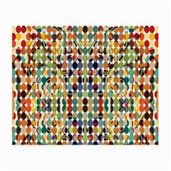 Retro Pattern Abstract Small Glasses Cloth