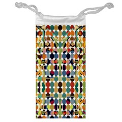 Retro Pattern Abstract Jewelry Bag