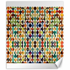 Retro Pattern Abstract Canvas 20  X 24