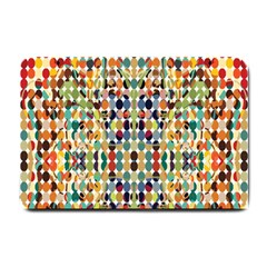 Retro Pattern Abstract Small Doormat
