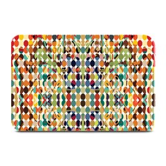 Retro Pattern Abstract Plate Mats