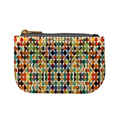 Retro Pattern Abstract Mini Coin Purses