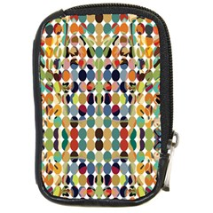 Retro Pattern Abstract Compact Camera Cases