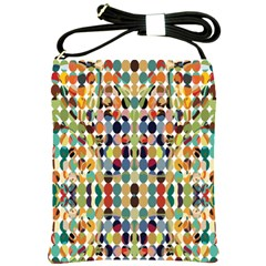 Retro Pattern Abstract Shoulder Sling Bags