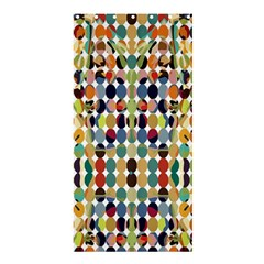 Retro Pattern Abstract Shower Curtain 36  X 72  (stall)