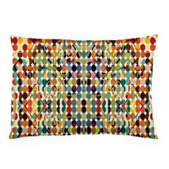 Retro Pattern Abstract Pillow Case (two Sides)