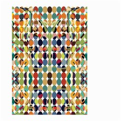 Retro Pattern Abstract Small Garden Flag (two Sides)
