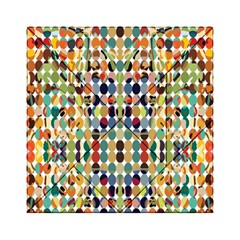 Retro Pattern Abstract Acrylic Tangram Puzzle (6  X 6 )