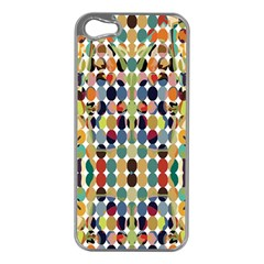 Retro Pattern Abstract Apple Iphone 5 Case (silver)