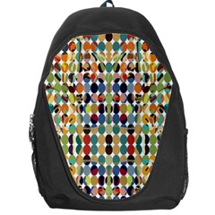 Retro Pattern Abstract Backpack Bag