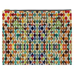 Retro Pattern Abstract Cosmetic Bag (xxxl)