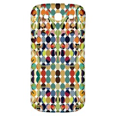 Retro Pattern Abstract Samsung Galaxy S3 S Iii Classic Hardshell Back Case