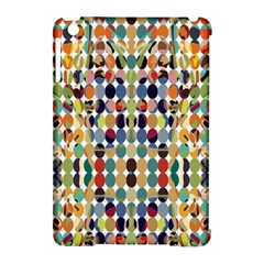 Retro Pattern Abstract Apple Ipad Mini Hardshell Case (compatible With Smart Cover)