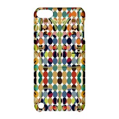 Retro Pattern Abstract Apple Ipod Touch 5 Hardshell Case With Stand