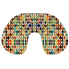 Retro Pattern Abstract Travel Neck Pillows