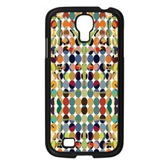 Retro Pattern Abstract Samsung Galaxy S4 I9500/ I9505 Case (black)