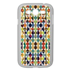 Retro Pattern Abstract Samsung Galaxy Grand Duos I9082 Case (white)