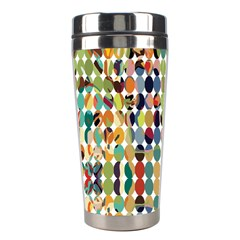 Retro Pattern Abstract Stainless Steel Travel Tumblers