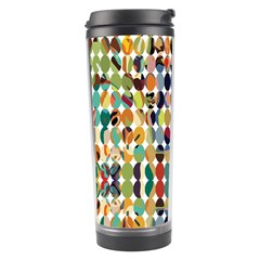 Retro Pattern Abstract Travel Tumbler