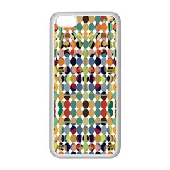 Retro Pattern Abstract Apple Iphone 5c Seamless Case (white)
