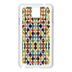 Retro Pattern Abstract Samsung Galaxy Note 3 N9005 Case (white)