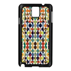 Retro Pattern Abstract Samsung Galaxy Note 3 N9005 Case (black)