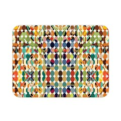 Retro Pattern Abstract Double Sided Flano Blanket (mini)