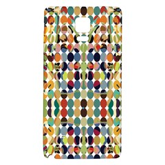 Retro Pattern Abstract Galaxy Note 4 Back Case