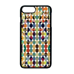 Retro Pattern Abstract Apple Iphone 7 Plus Seamless Case (black)