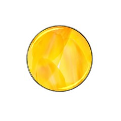 Yellow Pattern Painting Hat Clip Ball Marker (10 Pack)