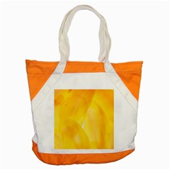 Yellow Pattern Painting Accent Tote Bag