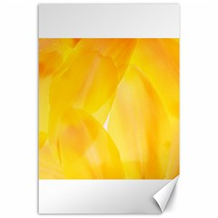 Yellow Pattern Painting Canvas 24  X 36