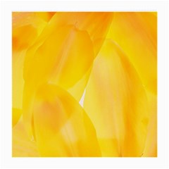 Yellow Pattern Painting Medium Glasses Cloth