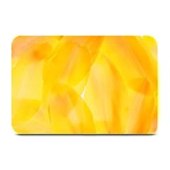 Yellow Pattern Painting Plate Mats