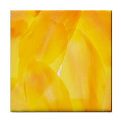 Yellow Pattern Painting Face Towel