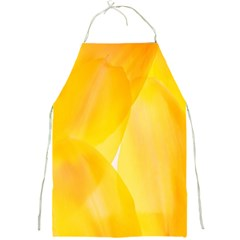 Yellow Pattern Painting Full Print Aprons